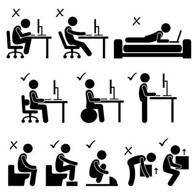 Correct Postures