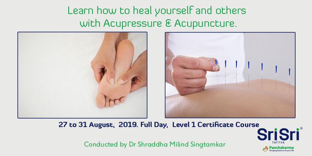 Acupressure and Acupuncture Training Program - Sri Sri