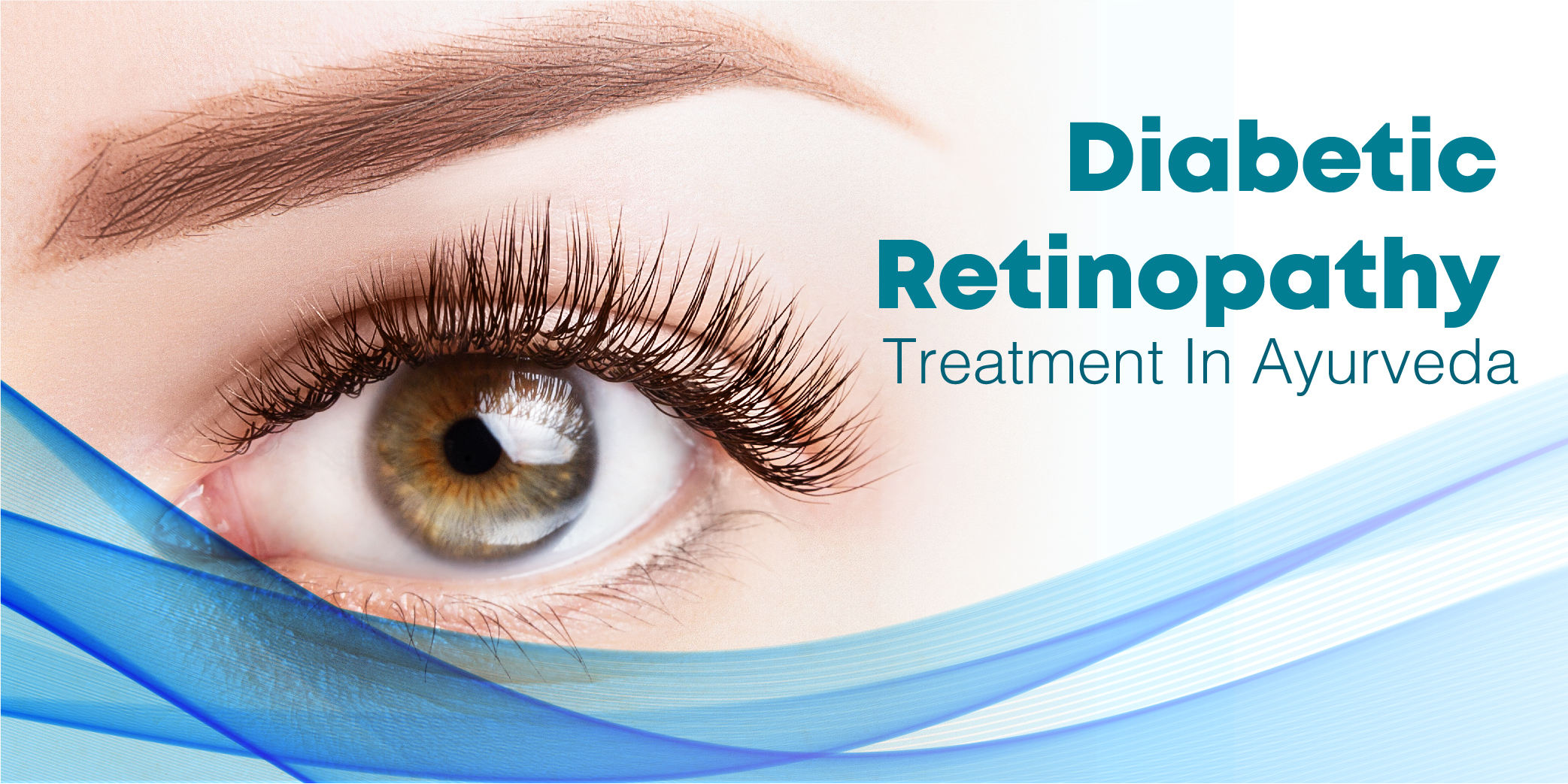 Diabetic Retinopathy vision loss Treatment In Ayurveda Normal Vision Blurred Vision dark floaters regular eye check-up eye issues